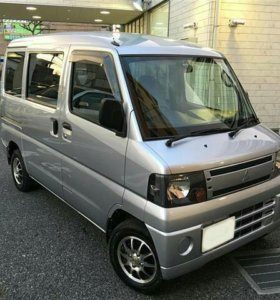 Mitsubishi Minicab 0.7AT, 2008, микроавтобус
