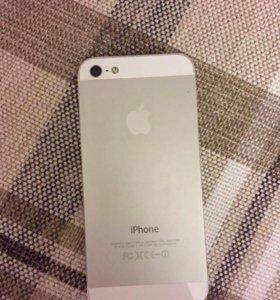 Айфон 5 16 гб белый