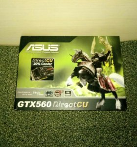Игровая видеокарта GTX560