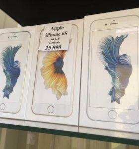 Новый iPhone 6s 64gb
