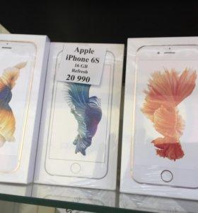 Новый iPhone 6s 16gb