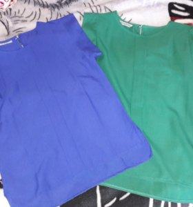 Синяя блузка( новая)