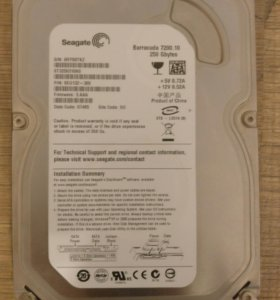 Жесткий диск seagate 250gb