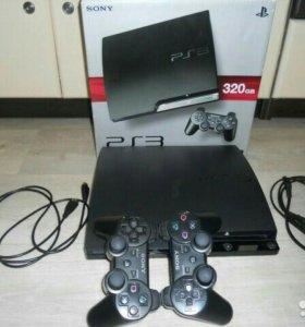 SonyPS3 PROшита 320гб