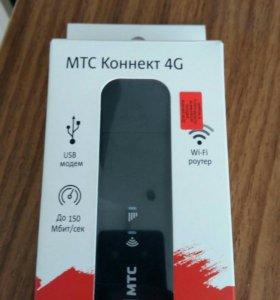 Модем МТС 4G с Wi-Fi роутером