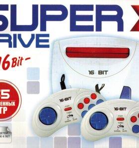 Игровая приставка Sega Super Drive X 55-in-1 Сега
