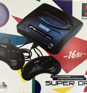 Игровая приставка Sega Super Drive 2 62-in-1
