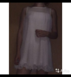 ‼️Белое платье