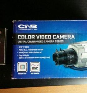 Камера видеонаблюдения с обьективом
