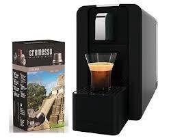 Cremesso Compact Automatic Piano Black Кофемашина
