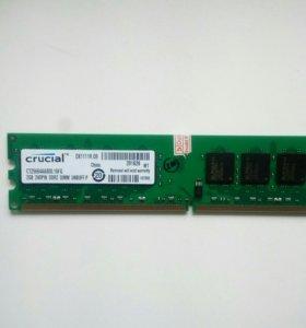 2Gb DDR-2 Crucial