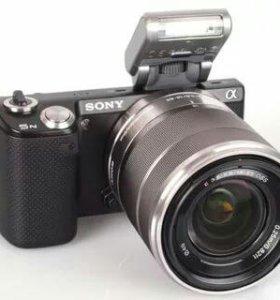 Фотоаппарат беззеркальный sony nex 5