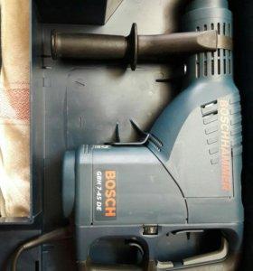 Новый мощный перфоратор BOSCH DBH 7-45 DE в кейсе