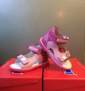 Детская обувь Сандалии Натуральная кожа