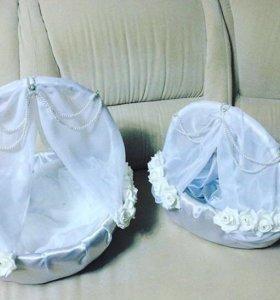 Корзинки для свадьбы