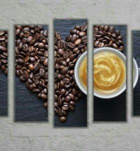 Картины кофе новые