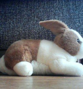 Мягкая , новая игрушка заяц vs кролик