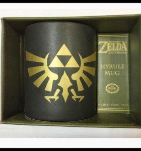 Кружка Nintendo Zelda Hyrule Triforce
