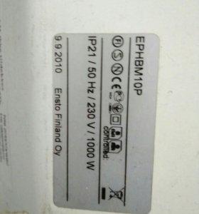 Конвектор ENSTO ephbm10P 1000 Вт (обогреватель)