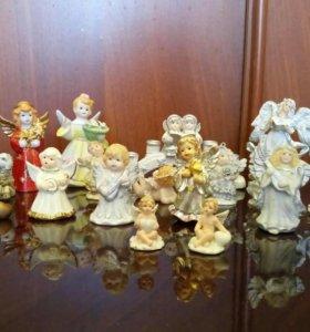Статуэтки ангелочки коллекционные