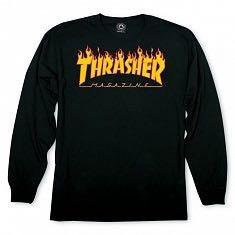 Футболка Flame Logo Long Sleeve