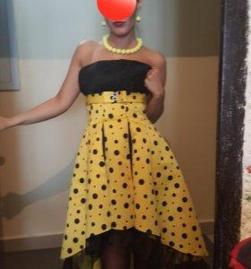 Платье в стиле стиляги