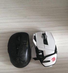 Продаются 2 мышки 1.A4tech 2.R.a.t