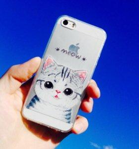 Чехол для IPhone 5/5s/SE, 6/6s 🐾