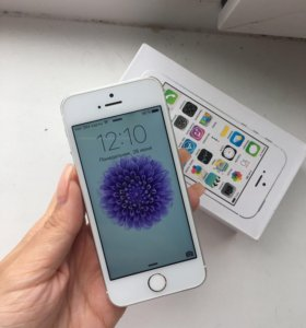 iPhone 5s 16гб silver