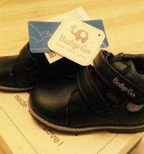ботинки детские демисезонные, новые