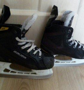 Детские хоккейные коньки Bauer