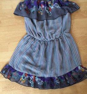Пляжное коротенькое платье 👗