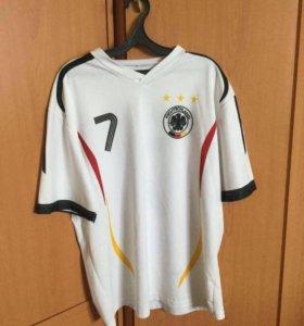 Футболка, сборная Германии.