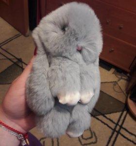 Игрушка брелок кролик