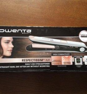 Новый утюжок для волос ( выпрямитель) . Rowenta