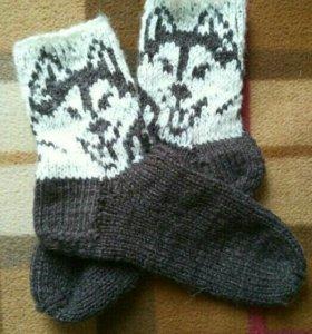 Носки хаски