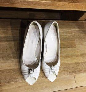 Туфли кожаные натуральные Meniani