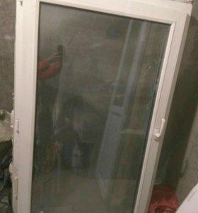 Балконная дверь и окно г.Московский