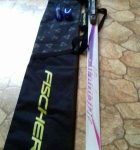Лыжи для девочки 12-14 лет FISCHER NORDWEI VEGA