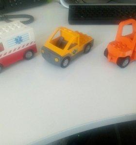Машинки Lego duplo