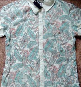 Блуза х/б новая р.48