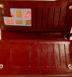 Клатч мужской портмоне кошелёк бумажник барсетка