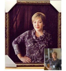 Портрет по фото и картины на заказ