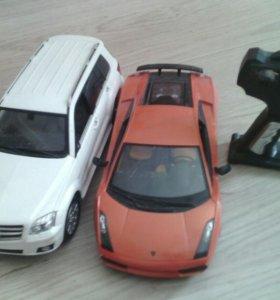 Машинки на пульте управления