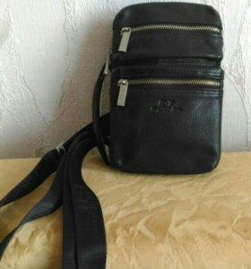 Мужская кожаная сумка Н.Т