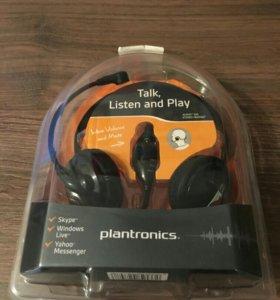 Наушники с микрофоном Plantronics Audio 345