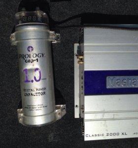 Усилитель на 400вт + конденсатор на 1 квт