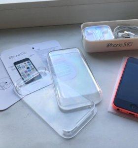 iPhone 5C 16Gb (розовый). Идеал, полный комплект