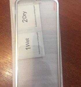 Защитное стекло с краями на iPhone 6,6s,7