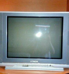 Телевизор Hitachi (в хорошем состоянии)